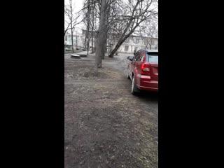 На улице Горьковская