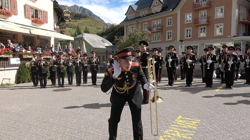 Suworow Kadetten in Andermatt 24.09.2019 - Суворовские курсанты в Андерматте (Швейцария)