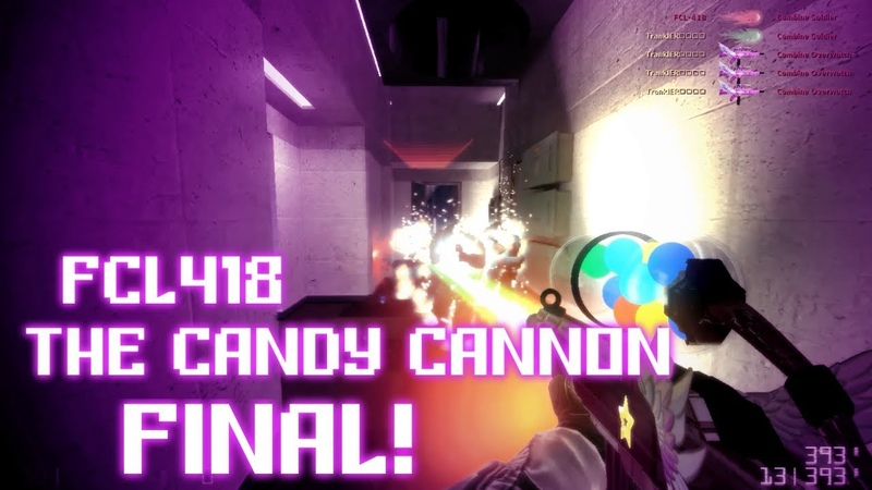 GMOD SWEP FINAL CREATION FCL418 - The Candy Cannon