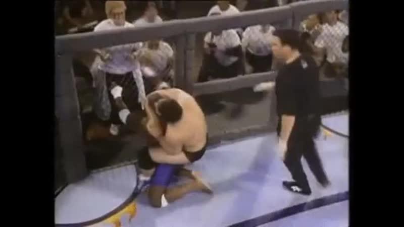 MMA Dan Severn vs Joe Charles Лучший боец в истории Зверь Дэн Северн против Джо Чарльса 11DeadFace