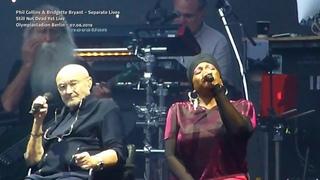 Phil Collins & Bridgette Bryant - Separate Lives *LIVE Berlin 2019*