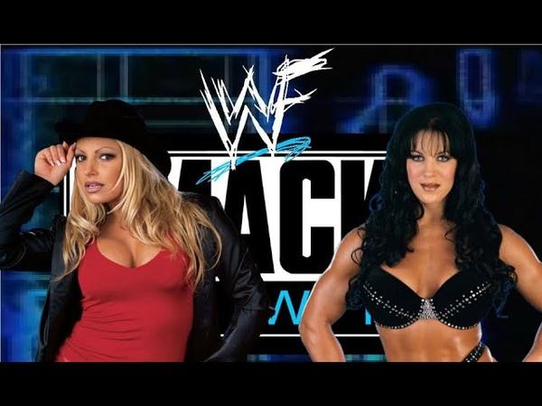 WWE 2K20 - Trish Stratus vs Chyna, Smackdown 00, Table Match