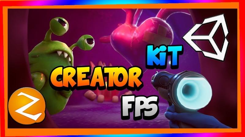 *Creator Kits FPS* Unity3D* crea tu juego de FPS facil y rapido de forma gratuita*