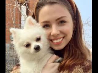 А. Зубченко. Девочка с собачкой