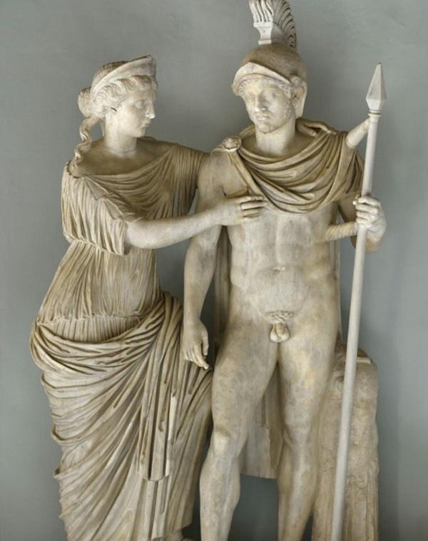 Арес и его жена