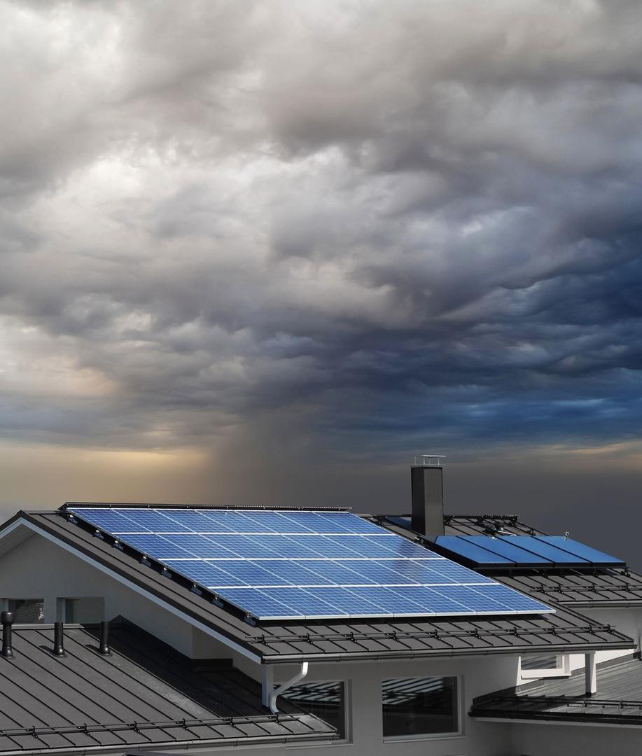 Влияет ли гроза на солнечные батареи?, изображение №1