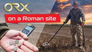 XP ORX review   Paul Bancroft testing the ORX on a Roman site
