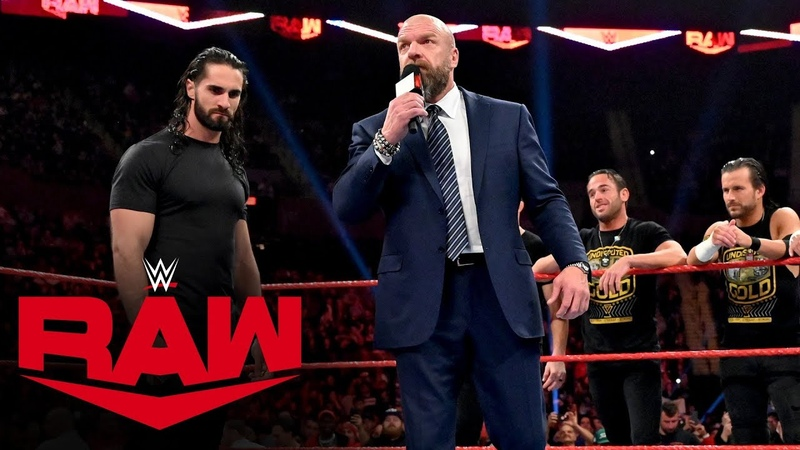 The «Kingslayer»: Triple H gives Seth Rollins an ultimatum: Raw, Nov. 4, 2019