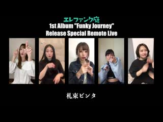 Ele Funk Garden. 1st Album Release Special Remote Live 01/05/2020