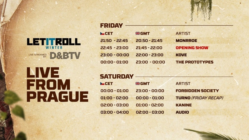 Let It Roll Winter 2020 FRIDAY Live From Prague D BTV