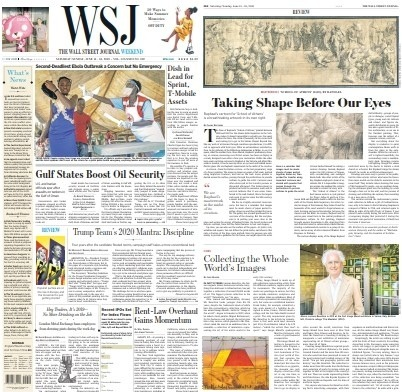 WSJ Weekend - June 15-16 2019