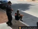 Dude was unarmed and harmless but the stupid cop still felt like tasing him