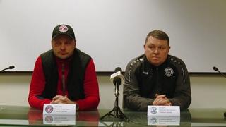 Послематчевая пресс-конференция Енисей (Красноярск)  Водник (Архангельск) | 1 ноября 2019 года