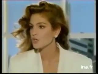 Publicité loréal avec cindy crawford [1992]
