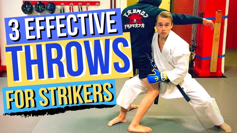 3 Karate Throws For Strikers Stand Up Fighters