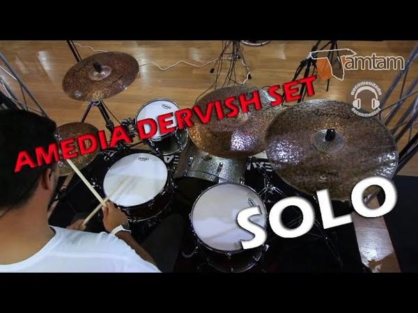 TamTam Percusión Amedia Set Platos Dervish Solo