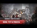 🛸Буратино переросток Прохождение Remnant coop Boni Tey Frozza 3 2