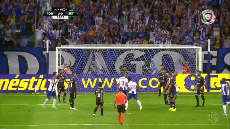 Goal | Golo Zé Luís: FC Porto (3)-0 Vitória FC (Liga 19/20 2)