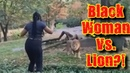 Black Woman Gets In Lion Enclosure Bronx Zoo❗😲 😮Vlog😮 David Spates