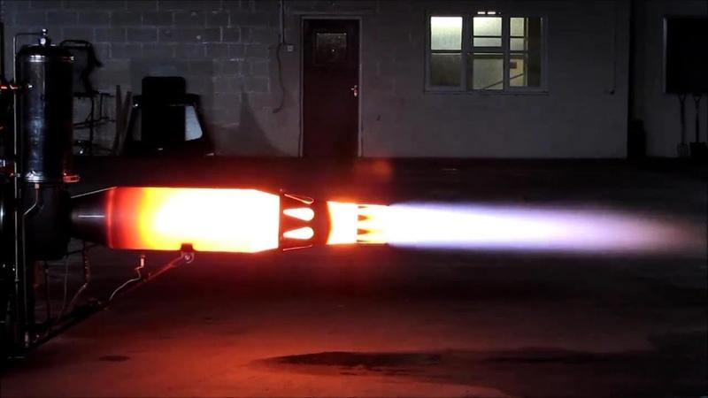Jet Engine full power run Afterburner HX Monster Homemade jet engine