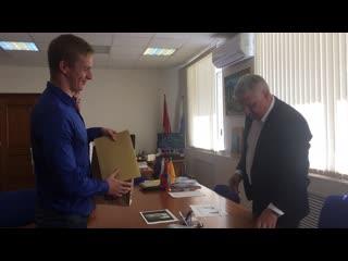 Денис Добряков пообещал помочь пловцам отправиться на сборы