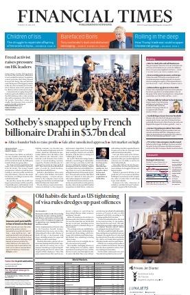 Financial Times UK - June 18 2019