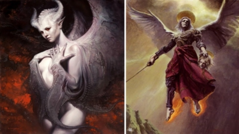 ПАДШИЕАНГЕЛЫ:Азазель,Дьявол,Суккуб,Белиал,Люцифер