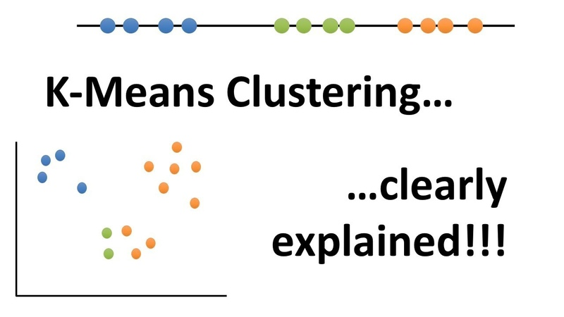 StatQuest K means clustering