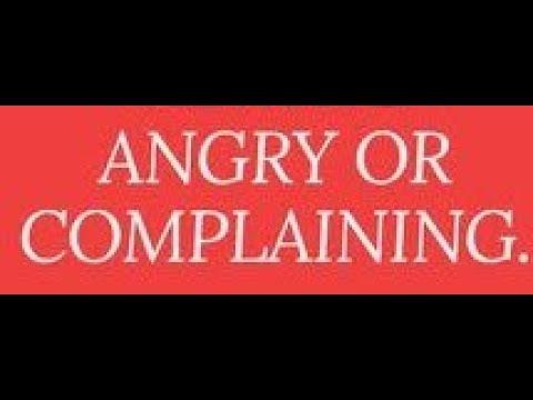 Anger Complaining Depression Anxiety / Timothy J Douglass Sr / Super Power Prayer