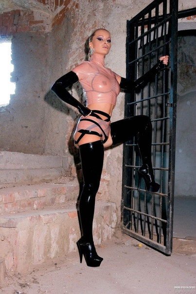 Liliane Tiger In Latex Is At Her Dungeon Xtapes 1