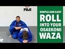 Simple Easy Roll For Beginner Judokas Travis Stevens Basic Judo Techniques