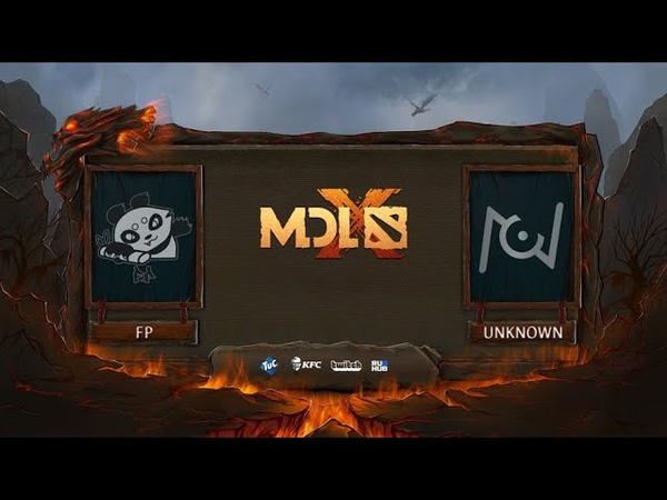 Fighting PandaS vs Team Unknown, MDL Chengdu Major, bo3, game 2 [Eiritel]