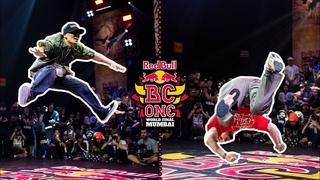 B-Boy Nori vs B-Boy Zip Roc  |Last Chance Cypher Semifinal | Red Bull BC One World Final Mumbai 2019