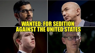 WANTED: Bezos, Pichai, Pool & Zuck FOR SEDITION AGAINST THE USA