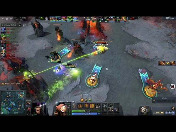 One of the most EPIC COMEBACK in the history of DOTA OG vs Game 3 The International 8
