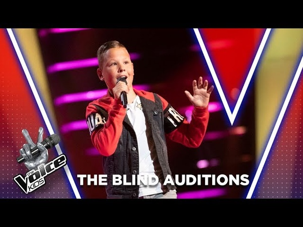 Brandon – Laat Me   The Blind Auditions   The Voice Kids Netherlands 2020