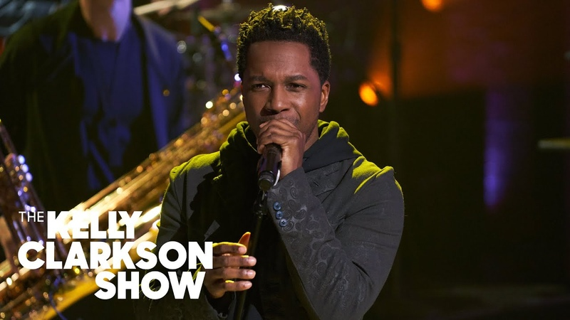 Leslie Odom Jr 's Performance Of 'Go Crazy' Makes Kelly Clarkson Feel 'Sexy'