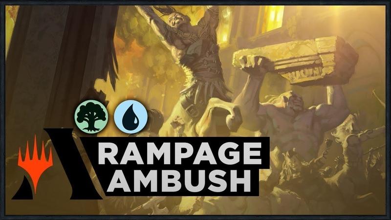 Rampage Ambush Throne of Eldraine Standard Deck MTG Arena