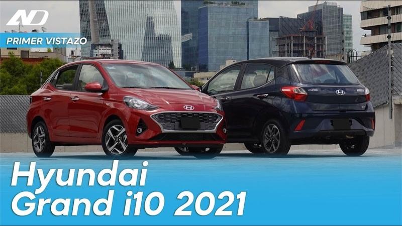 Hyundai GRAND i10 2021- Totalmente nuevo y mejorado - Primer Vistazo AD