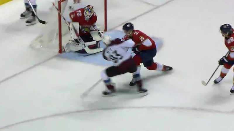 We have some goals to catch up on This pass from Belly is NIET O GoAvsGo