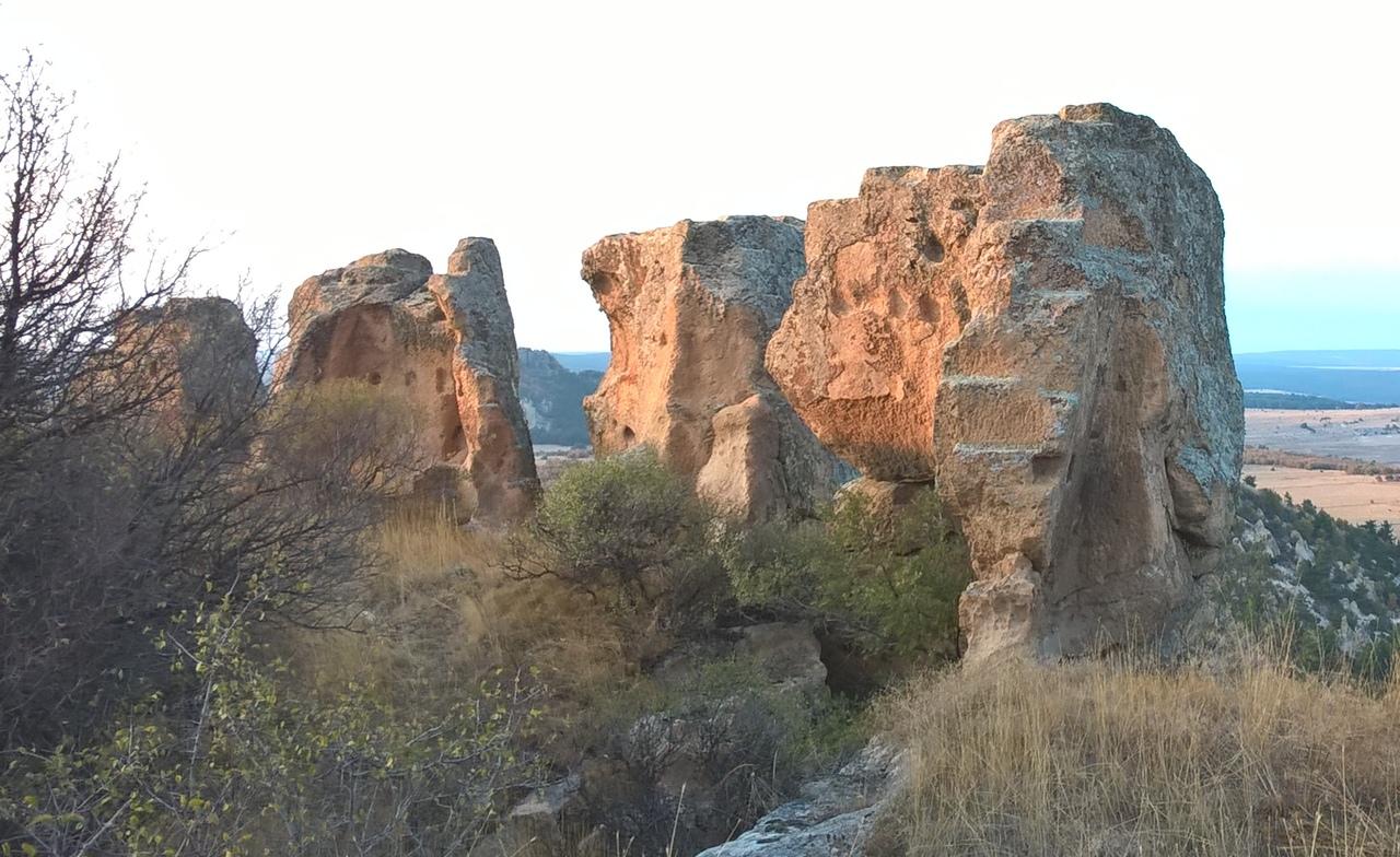 Стены древней фригийской крепости