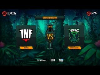 Infamous vs NoPing e-sports, Dota Pro Circuit 2021: S1 - SA, bo3, game 2 [Lex & CrystalMay]