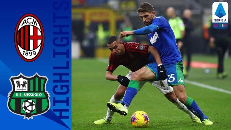 Milan 0-0 Sassuolo | VAR Drama Denies Milan in Goalless Draw! | Serie A TIM
