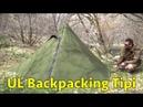 Hexpeak Tipi (2p) Ultralight Hunting Trekking Pole Tent