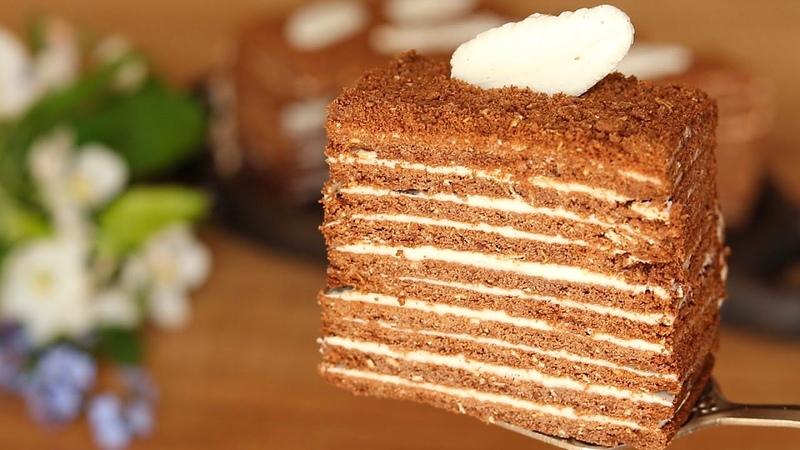 Быстрый 🍰 Торт ИЗ ПЕЧЕНЬЯ без выпечки за 10 минут | Cake without baking