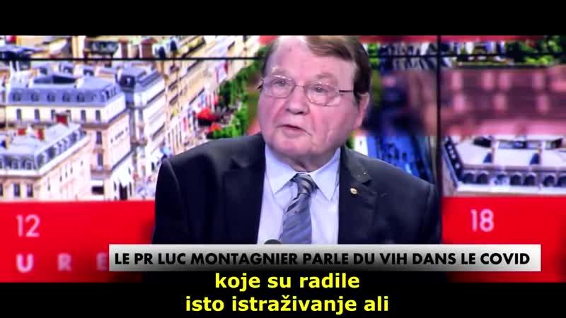 Luc Montagnier Nobel Price 2008 HIV in COVID