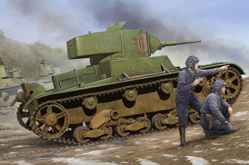 Операция Х. Первый танковый бой в истории РККА: Т-26 против итальянских огнеметных танкеток, изображение №1