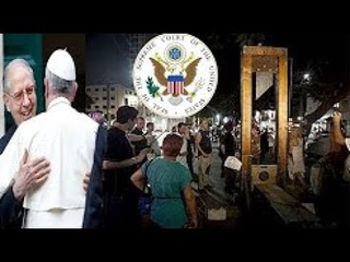 Fema Death By Guillotine Sunday Law 666 Mark of the Beast Pope Francis Obama End Times