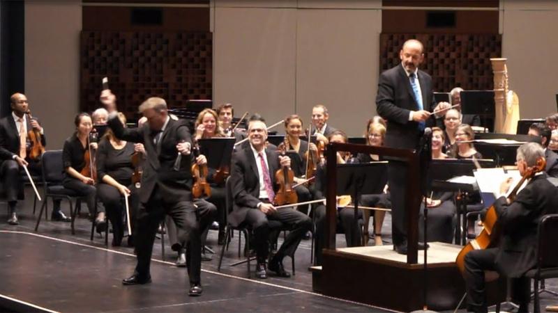 Florida Orchestra recreates GEICOs Triangle Solo Commercial