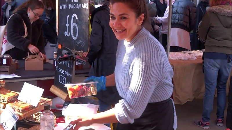 LONDON STREET FOOD BURGERS SPANISH OMELETTE OYSTERS WRAPS CAKES